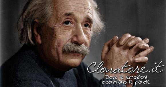 E' meglio essere ottimisti ed avere torto piuttosto che pessimisti ed avere ragione  - Albert Einstein