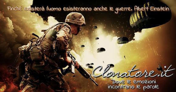 Finché esisterà l'uomo esisteranno anche le guerre.  - Albert Einstein